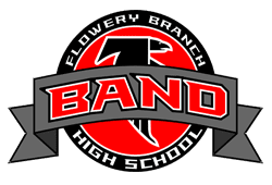 Flowery Branch High School Band Logo
